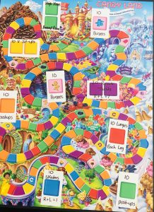 Candy Land Boot Camp Game