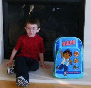 Danny 1st Day of Kindergarten