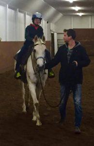 Danny Riding The Big Horse