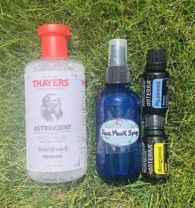 DIY Face Mask Spray