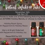 Virtual Holiday Make-N-Take