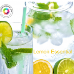 Water With Lemon or Lime Essential Oil