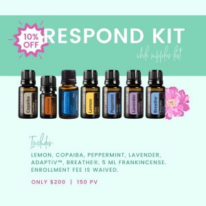 Respond Kit Essential Oils