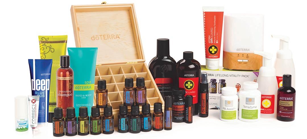 dōTERRA Natural Solutions Essential Oils Kit (2020)