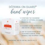 OnGuard Hand Wipes
