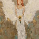 Summer Angel Painting