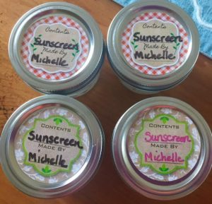 DIY Sunscreen With Essential Oils